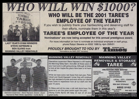2001 Employee of the Year
